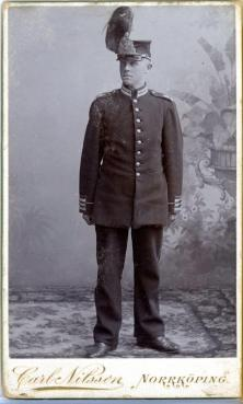 Livgrenadjär Carl Malmén