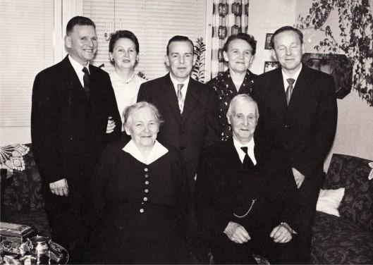 Emma & Ture Malmén med barn