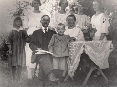 Lars Johan & Sofia med barn