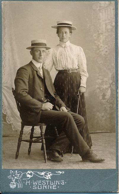 Alma och Axel Olsson